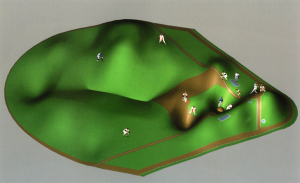 Study for a Baseball Field for the Architectural Body 1991-92